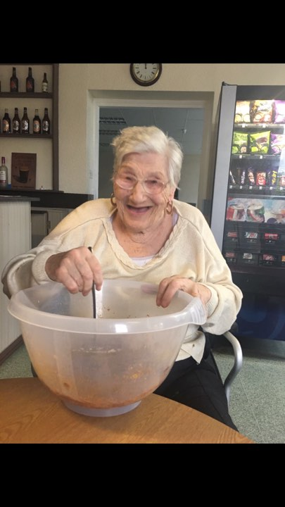 Baking Fun at Victoria House Care Centre