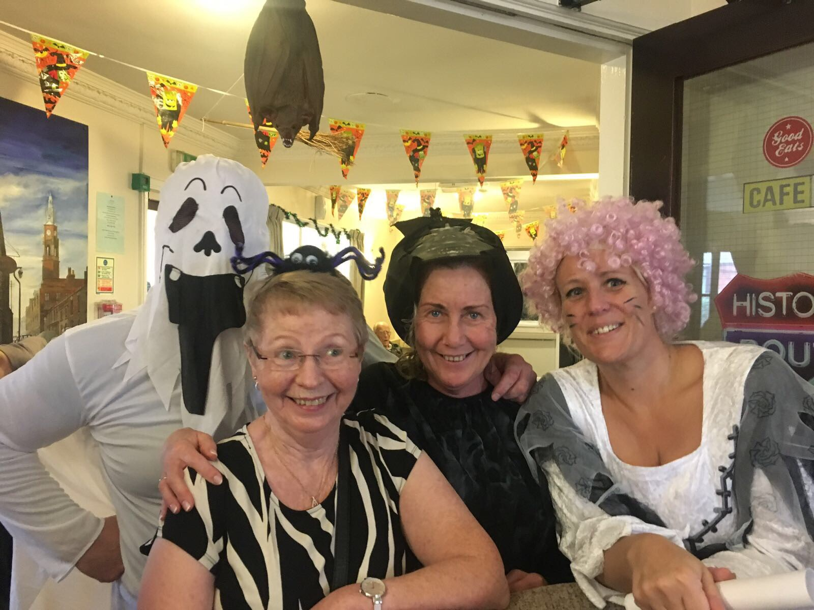Halloween Fancy Dress at Elizabeth Court Care Centre: Key Healthcare is dedicated to caring for elderly residents in safe. We have multiple dementia care homes including our care home middlesbrough, our care home St. Helen and care home saltburn. We excel in monitoring and improving care levels.
