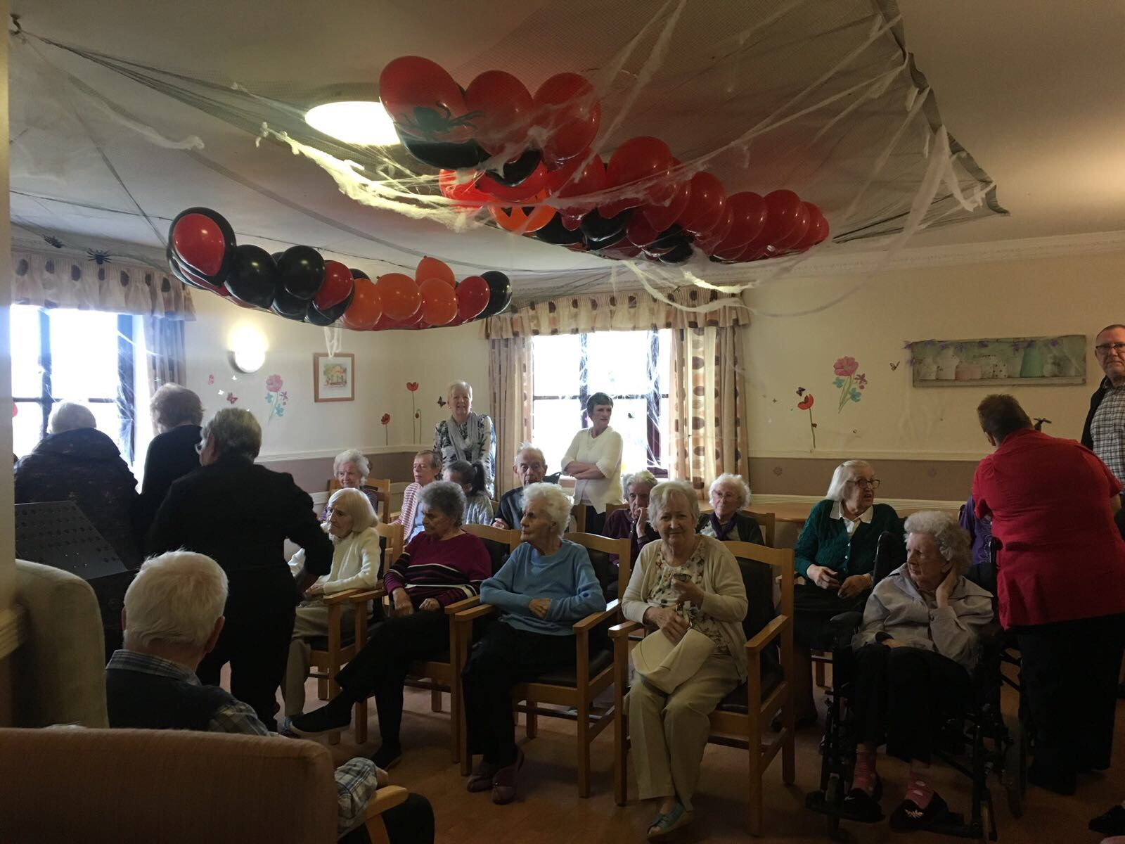Elizabeth Court Care Centre Halloween Party 2017: Key Healthcare is dedicated to caring for elderly residents in safe. We have multiple dementia care homes including our care home middlesbrough, our care home St. Helen and care home saltburn. We excel in monitoring and improving care levels.