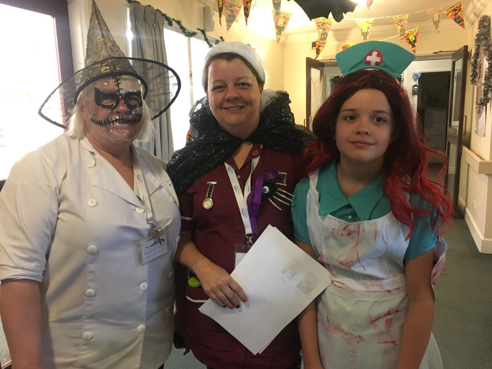 Spooky Uniform at Halloween!: Key Healthcare is dedicated to caring for elderly residents in safe. We have multiple dementia care homes including our care home middlesbrough, our care home St. Helen and care home saltburn. We excel in monitoring and improving care levels.