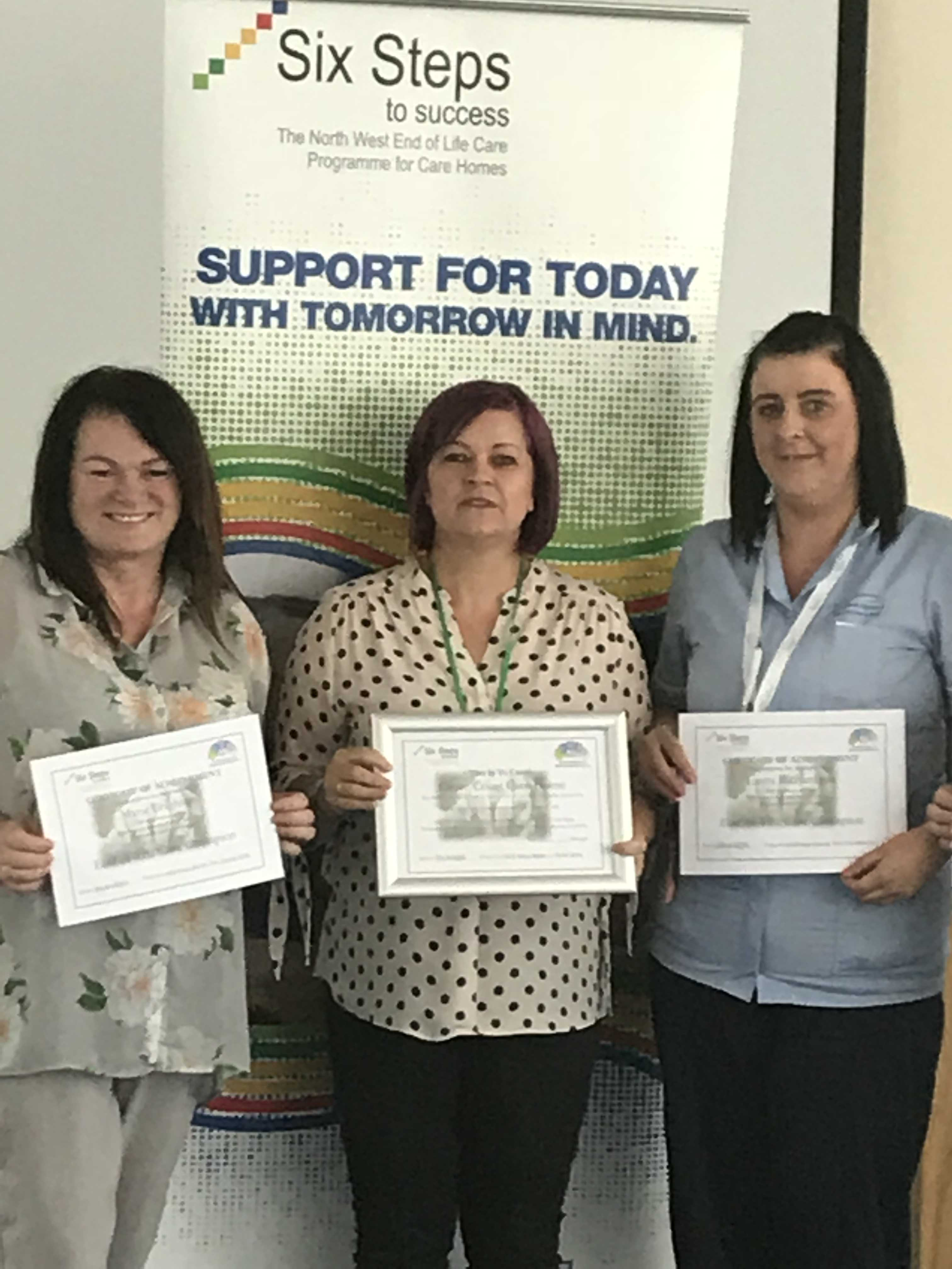 Six Steps 2018 success for Grace Court Care Centre Staff: Key Healthcare is dedicated to caring for elderly residents in safe. We have multiple dementia care homes including our care home middlesbrough, our care home St. Helen and care home saltburn. We excel in monitoring and improving care levels.