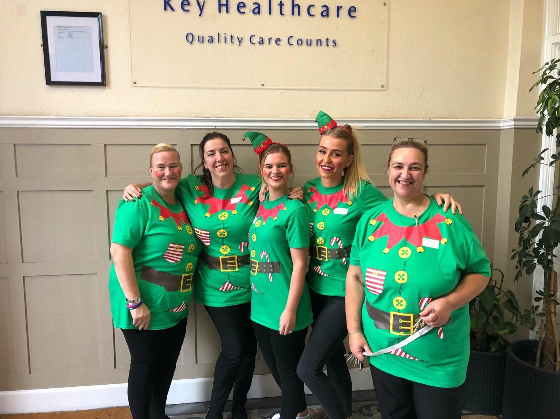 Elf Day At Victoria House Care Centre - 7th December 2018: Key Healthcare is dedicated to caring for elderly residents in safe. We have multiple dementia care homes including our care home middlesbrough, our care home St. Helen and care home saltburn. We excel in monitoring and improving care levels.
