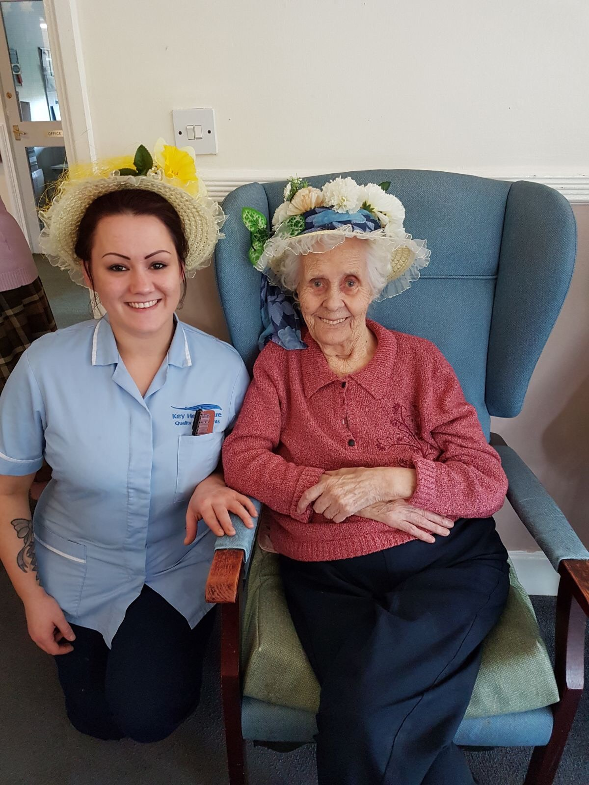 Easter Bonnets 2017: Key Healthcare is dedicated to caring for elderly residents in safe. We have multiple dementia care homes including our care home middlesbrough, our care home St. Helen and care home saltburn. We excel in monitoring and improving care levels.