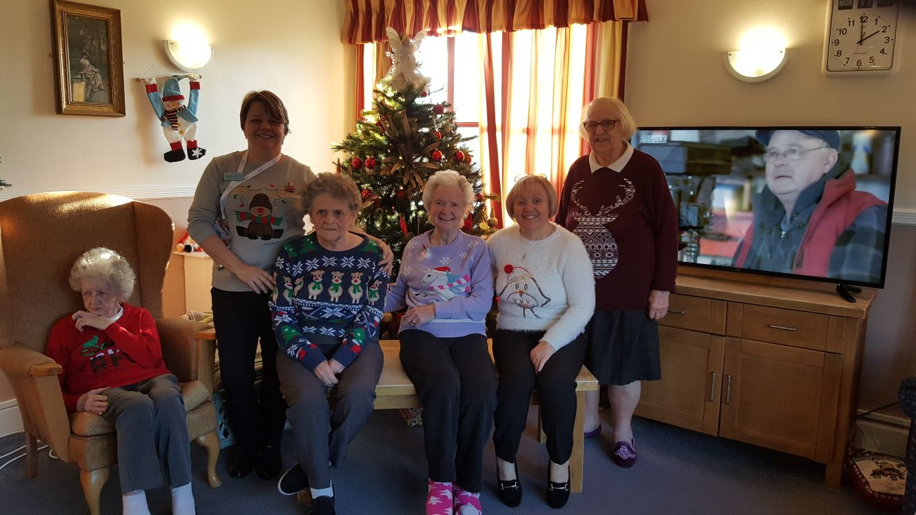 Christmas Jumper Day at Elizabeth Court Care Centre