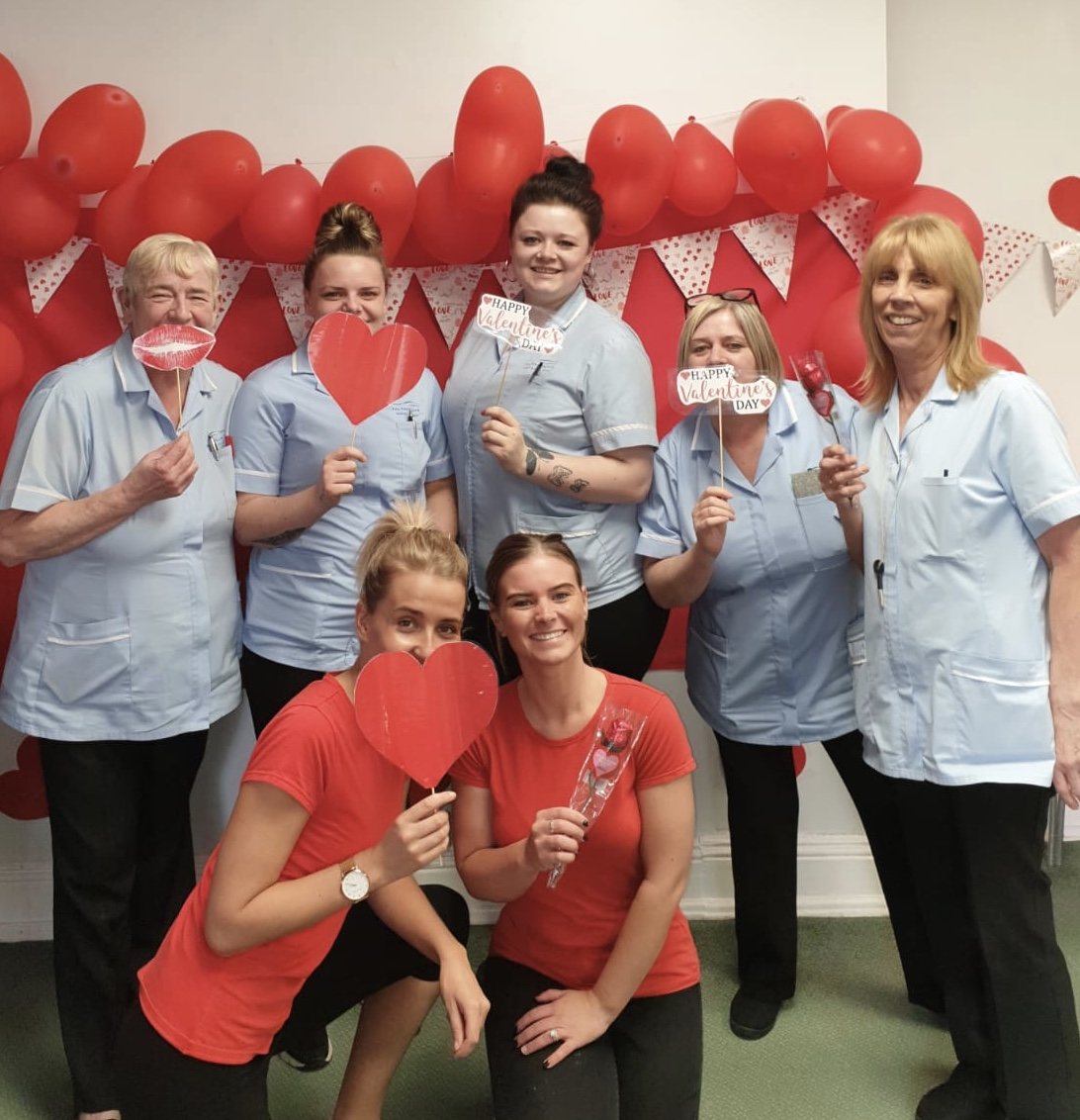 Valentines at Victoria House Care Centre