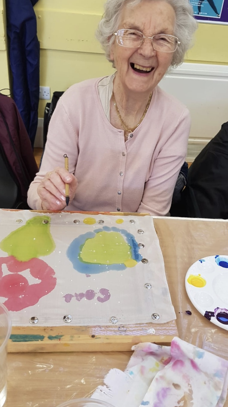 Silk Painting at Four Seasons Care Centre: Key Healthcare is dedicated to caring for elderly residents in safe. We have multiple dementia care homes including our care home middlesbrough, our care home St. Helen and care home saltburn. We excel in monitoring and improving care levels.