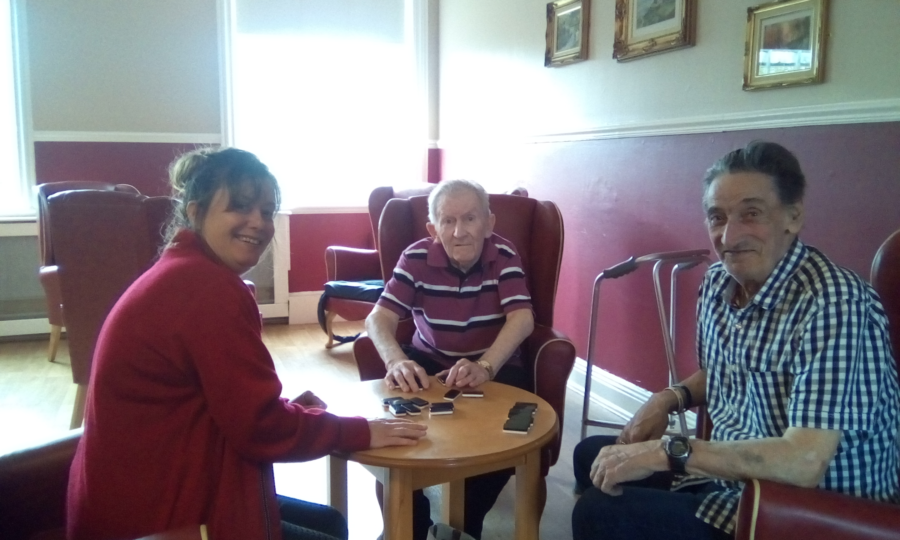 Motivation & Co play dominos at Victoria House Care Centre: Key Healthcare is dedicated to caring for elderly residents in safe. We have multiple dementia care homes including our care home middlesbrough, our care home St. Helen and care home saltburn. We excel in monitoring and improving care levels.
