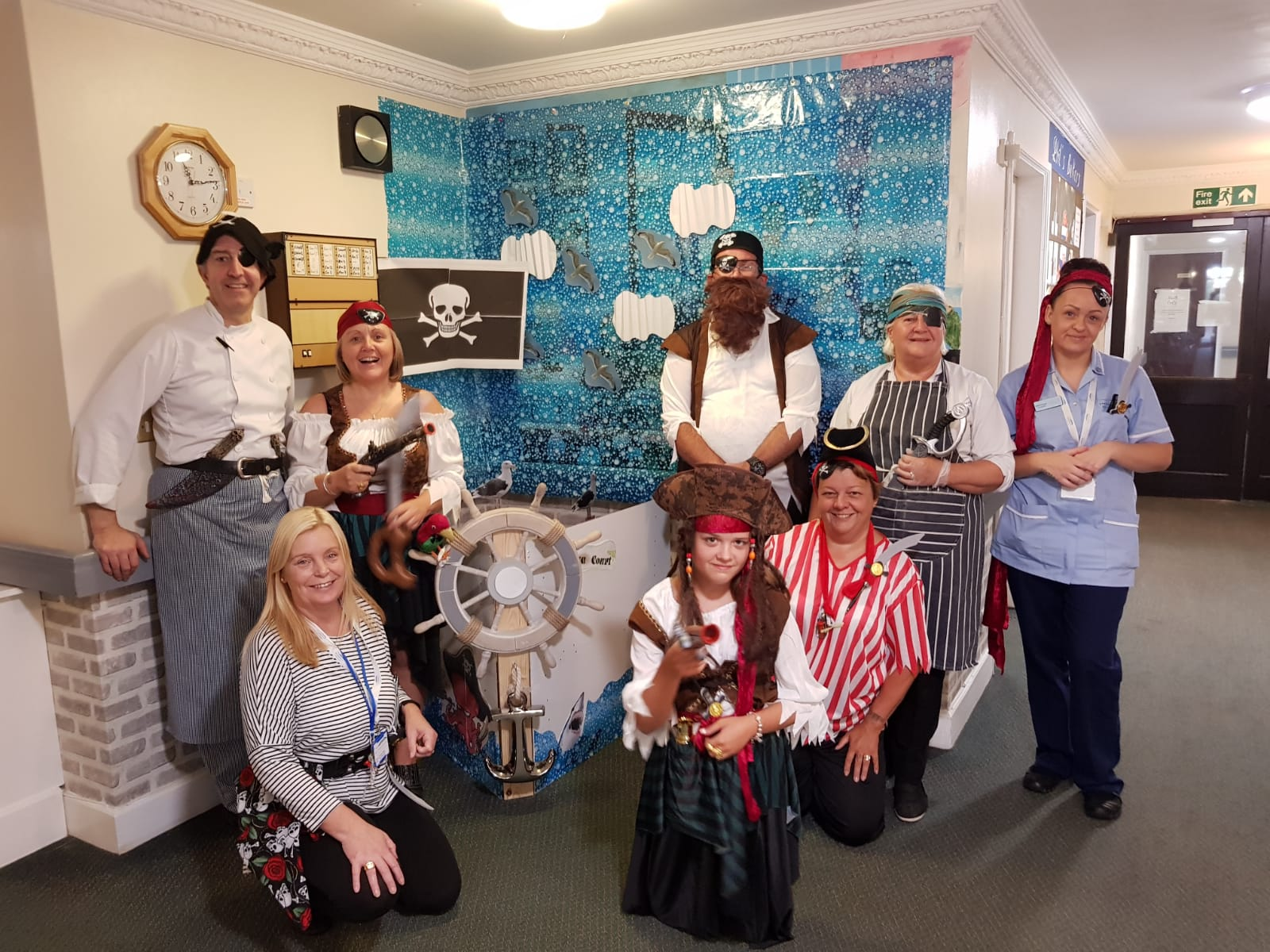 Pirate Themed Fancy Dress Party Elizabeth Court Care Centre: Key Healthcare is dedicated to caring for elderly residents in safe. We have multiple dementia care homes including our care home middlesbrough, our care home St. Helen and care home saltburn. We excel in monitoring and improving care levels.