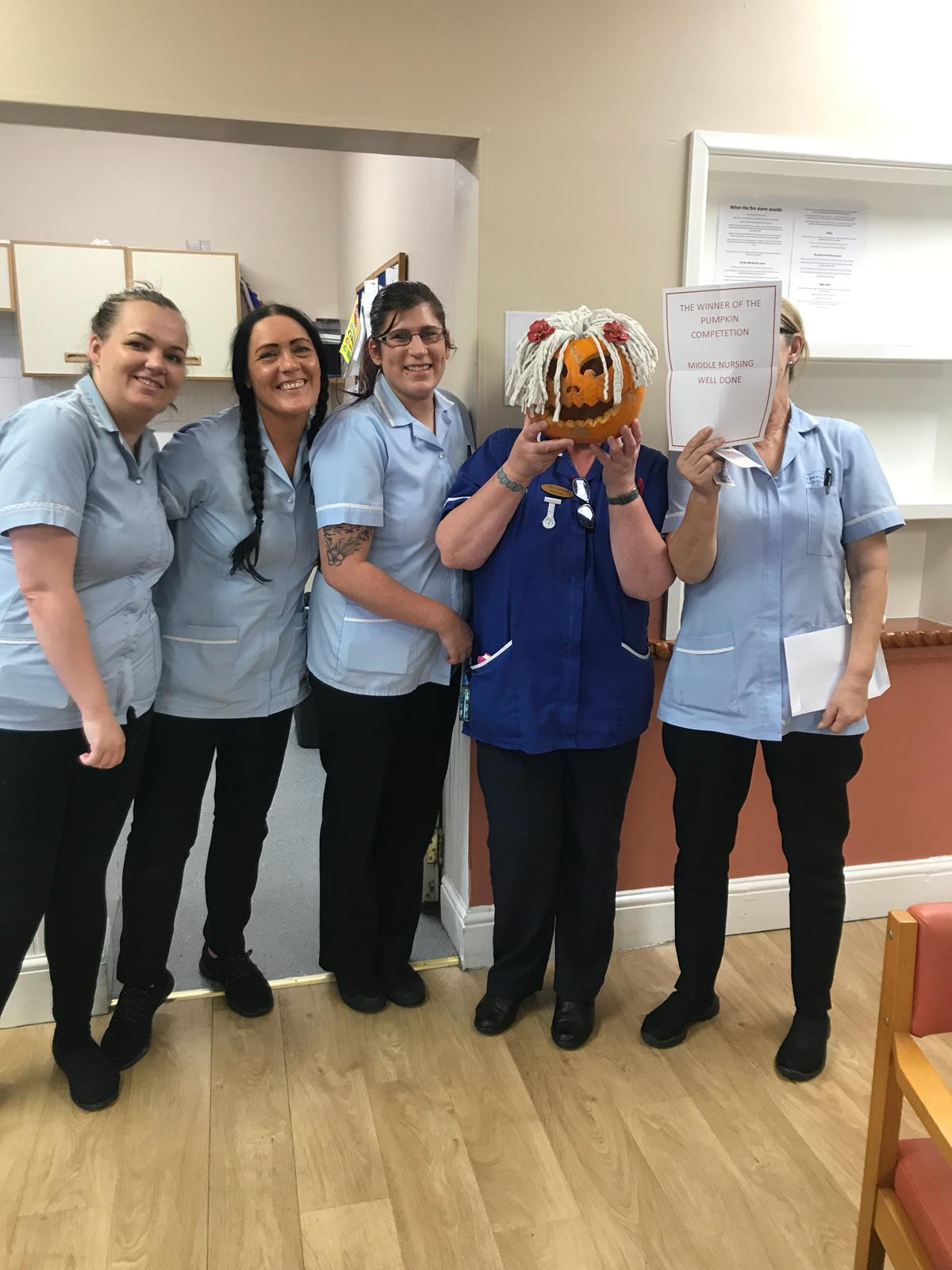 Pumpkin Competition 2018 at Victoria House Care Centre: Key Healthcare is dedicated to caring for elderly residents in safe. We have multiple dementia care homes including our care home middlesbrough, our care home St. Helen and care home saltburn. We excel in monitoring and improving care levels.